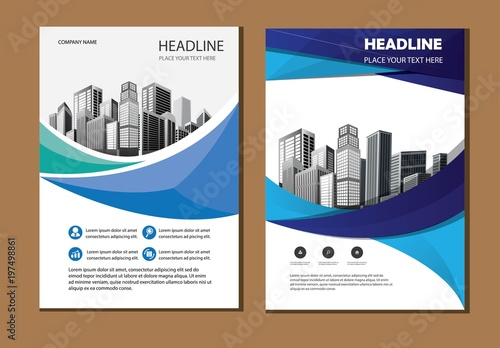 vector flyer corporate business flyer brochure design annual report and cover presentation