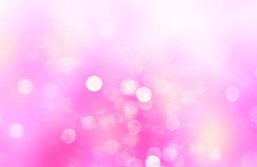 Pink blurred glitter background.