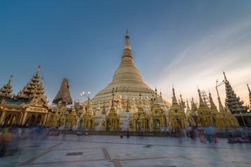 Shwedagon at dawn