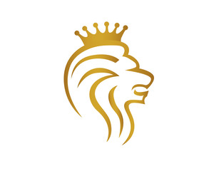 Lion, King and Crown