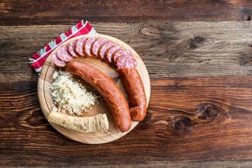 Brettljausn - Wurst und Käse Platte - Jause