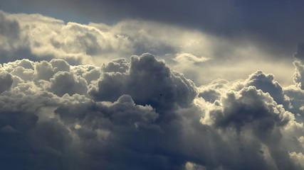 Spoed Fotobehang Hemel Above the clouds