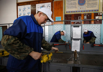 The Wider Image: Kazakh metal workers' town thrives on booming demand
