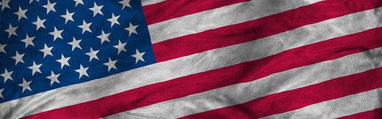 image of american flag closeup