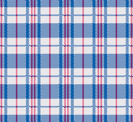plaid bag. seamless pattern. texture of Chinese plastic bag
