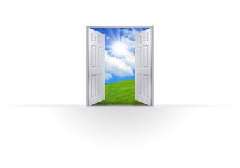 This Way Open Doorway