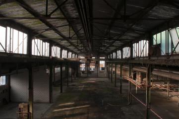 Metallfabrik vor dem Abriss, Lostplace