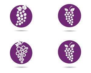 Grape vector icon