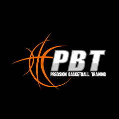 simple logo for basketball team