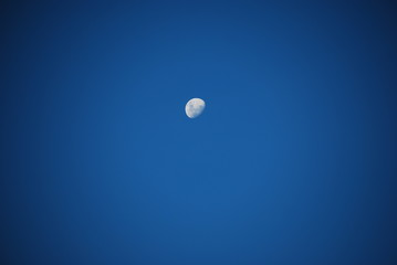 Moon on day