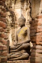 Bbeautiful rock Buddha Image