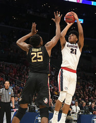 NCAA Basketball: NCAA Tournament-West Regional-Florida State vs Gonzaga