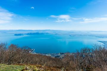 琵琶湖 滋賀県 日本