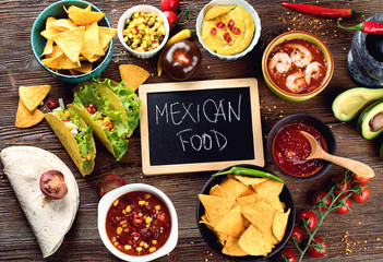 Mexican traditional food