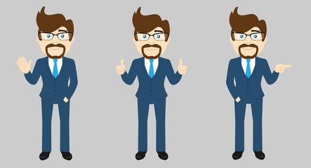 Business Man Set v1b