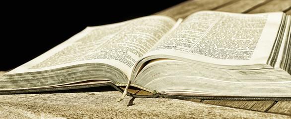 geöffnete Bibel