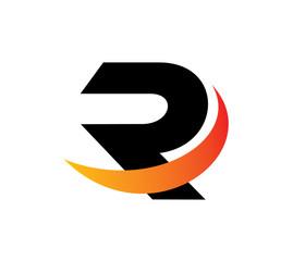 R logo font