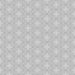 Seamless pattern in Asian style. Abstract texture on a grey background. Wallpaper pattern. Template for your desing, background, paper for wrapping, fabric. Vector image