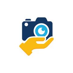Camera Care Logo Icon Design