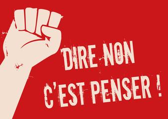 mai 68 - liberté - manifestation - slogan - révolte - révolution - grève - étudiant - affiche - contestation