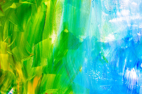 Textured abstract painting.Abstract art background