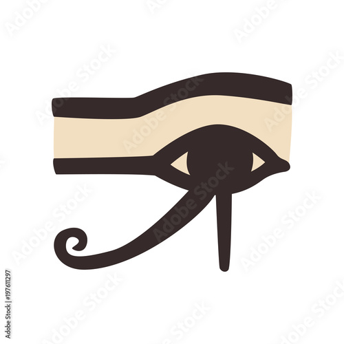 Wedjat Or Eye Of Horus Ancient Egyptian Symbol Of Protection Royal