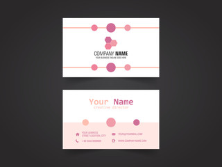 Vector Modern Creative Business Card Template