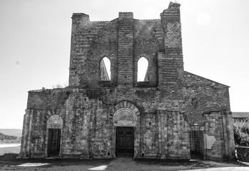 Abbazia abbandonata di San Galgano a chiusdino