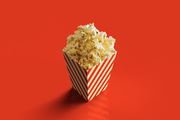 3D rendering of a pack of Pop Corn