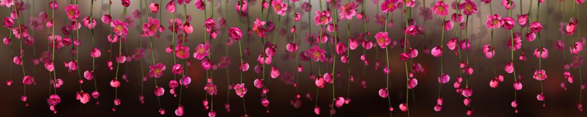 Panoramik Çiçek Manzarası Fotoväggar