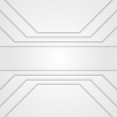 Light grey technology concept abstract background