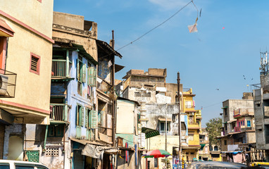 Typical buildings in Ahmedabad - Gujarat, India