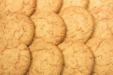 oatmeal cookies background
