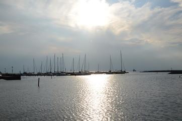 Marina in Borgholm Sweden
