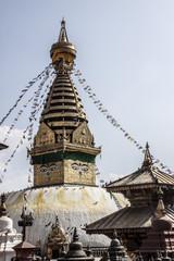 Swayambhunath, the Monkey Temple in Kathmandu