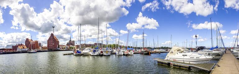 Stralsund, Yachthafen