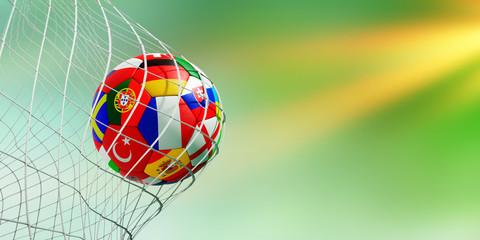 Fußball im Tor WM 2018