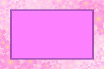 背景素材壁紙,写真スペース,写真枠,フォトフレーム,花,満開,花柄,花びら,植物,自然,草木,春,夏