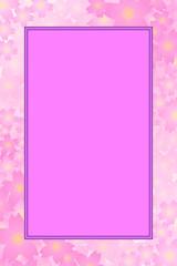 背景素材壁紙,写真枠,写真スペース,フォトフレーム,花,満開,花柄,花びら,植物,自然,草木,春,夏