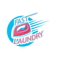 Laundry logo emblems