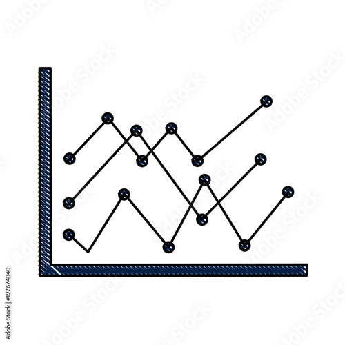 u0026quot diagram linear graph statistical analysis business vector illustration u0026quot  stock image and royalty