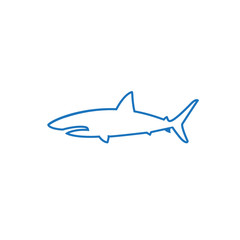 shark color logo