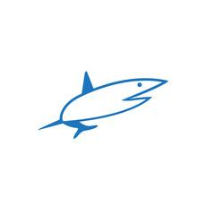 shark color logo