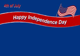 Vector Hintergrund für den Independence Day. Eps 10 Vector Datei