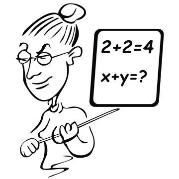 Nauczycielka matematyki
