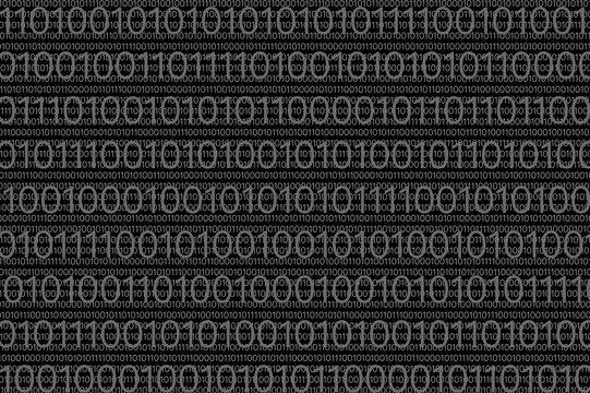 digital binar 01 code pattern