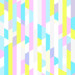 Seamless pattern. Abstract geometric wallpaper of the surface. Striped multicolored background. Pretty texture. Print for polygraphy, t-shirts and textiles. Doodle for design. Art creation