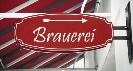 Schild 312 - Brauerei