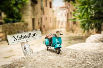 Schild 319 - Motivation