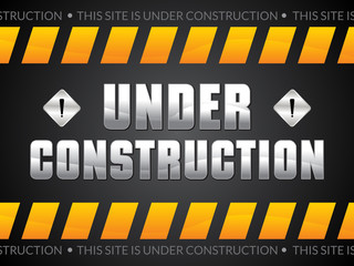 abstract artistic under construction background